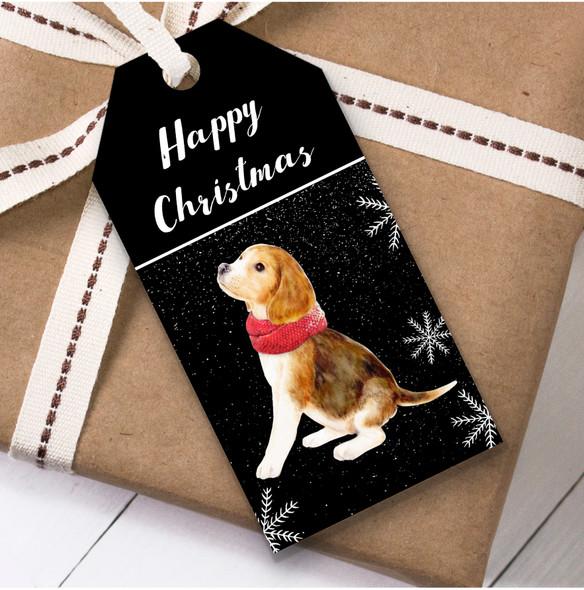 Beagle Dog Cute Christmas Gift Tags