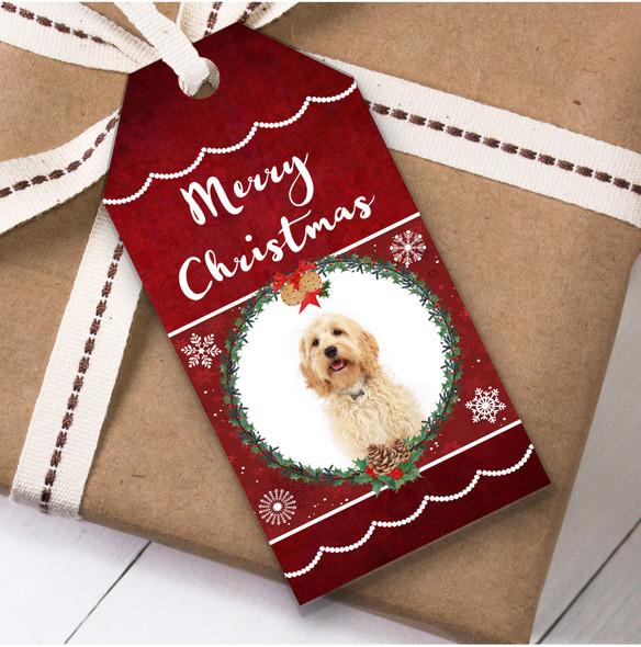 Cockapoo Dog Christmas Gift Tags