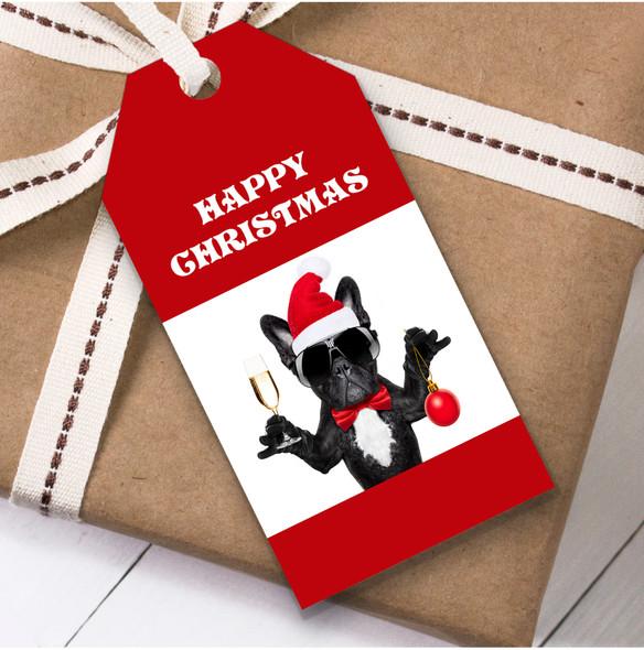 Funny Dog Christmas Gift Tags