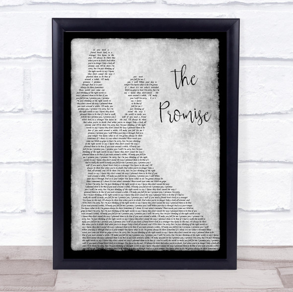Sturgill Simpson The Promise Man Lady Dancing Grey Song Lyric Quote Print