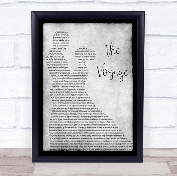 Christy Moore The Voyage Grey Man Lady Dancing Song Lyric Print