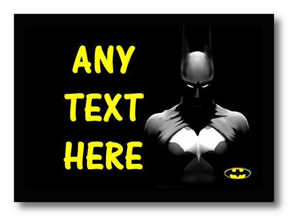 Batman Personalised Dinner Table Placemat