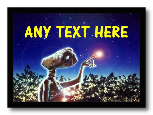 Et Alien Personalised Dinner Table Placemat