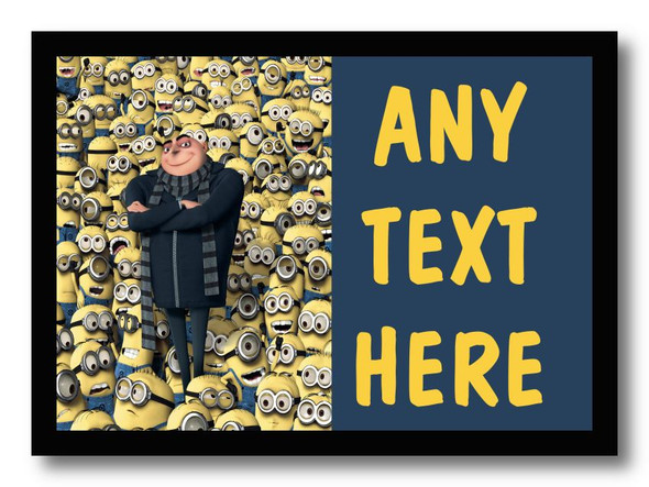 Despicable Me Minions Personalised Dinner Table Placemat