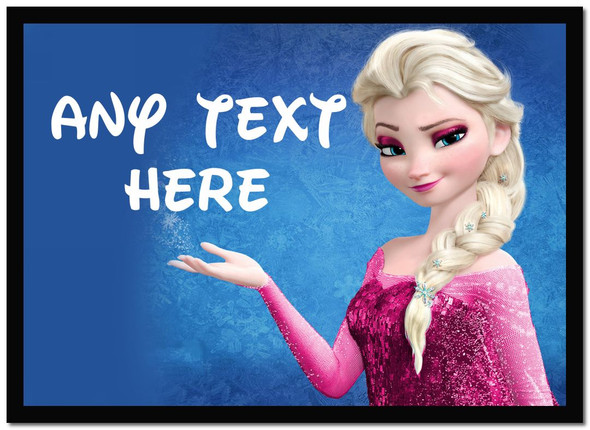 Elsa Frozen Personalised Dinner Table Placemat