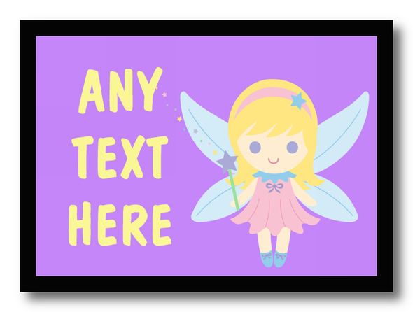 Purple Fairy Personalised Dinner Table Placemat