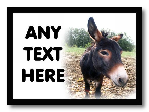 Donkey Personalised Computer Mousemat