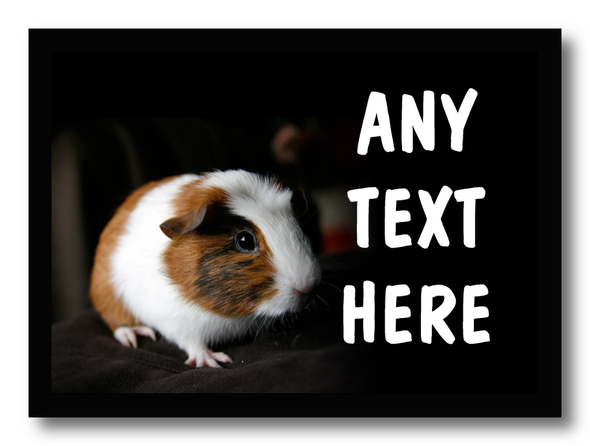 Guinea Pig Personalised Computer Mousemat