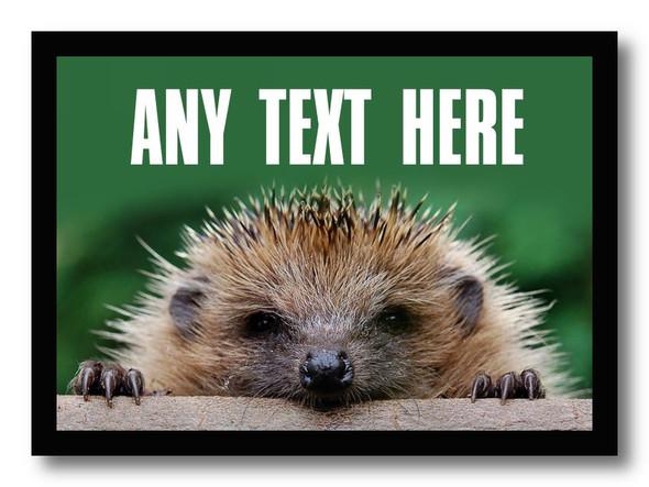 Hedgehog Personalised Computer Mousemat
