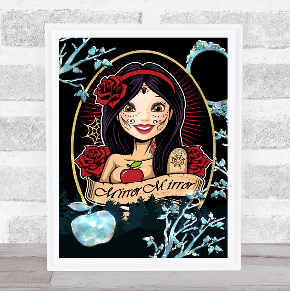 Bad Princess Range Snow White Wall Art Print