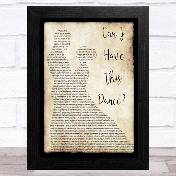 Zac Efron & Vanessa Hudgens Can I Have This Dance Man Lady Dancing Song Lyric Music Art Print