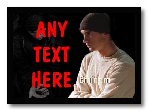 Eminem Personalised Computer Mousemat
