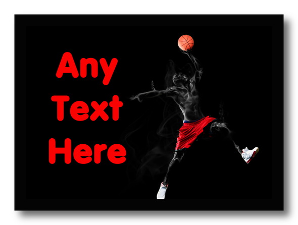 Basketball Personalised Computer Mousemat