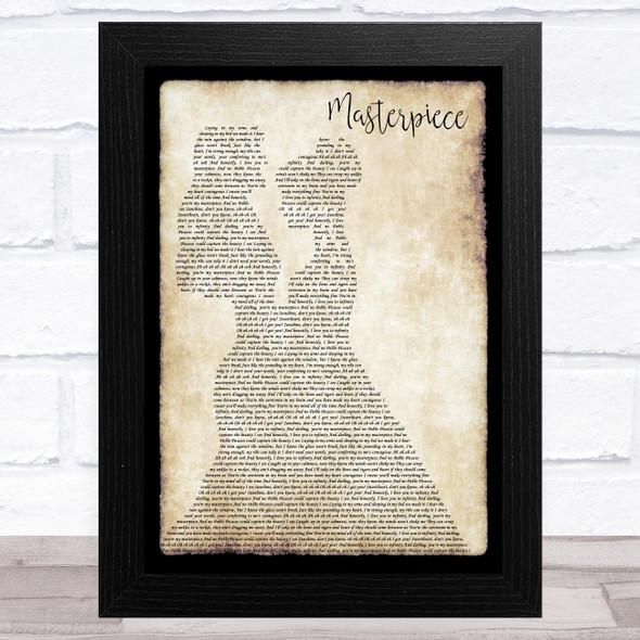 JP Cooper Masterpiece Lesbian Couple Two Ladies Dancing Song Lyric Music Art Print