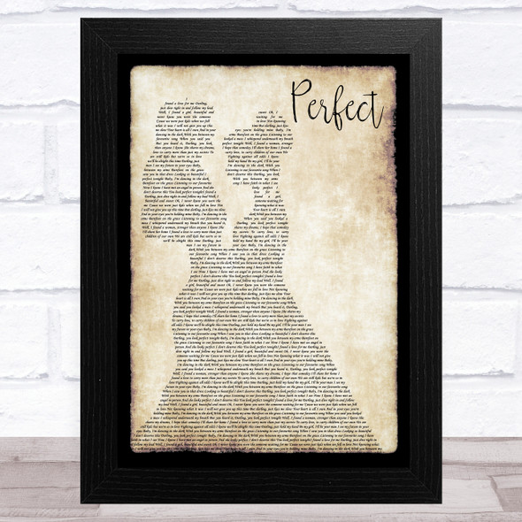 Ed Sheeran Perfect Lesbian Couple Two Ladies Dancing Song Lyric Music Art Print