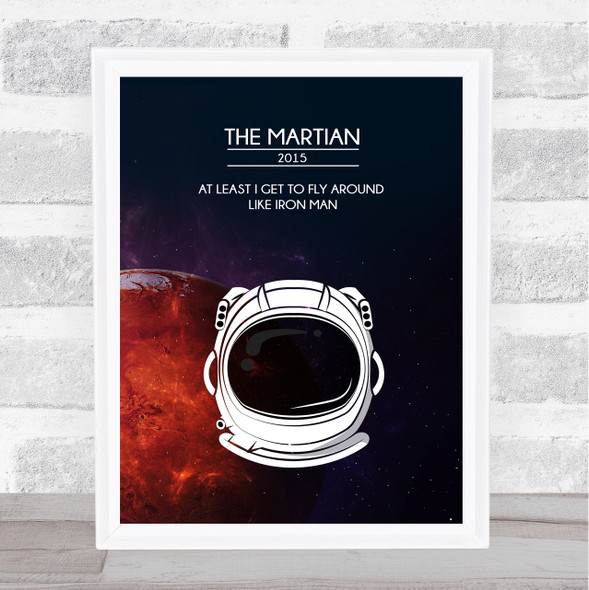 The Martian Classic Film Poster Movie Poster Film Wall Art Print