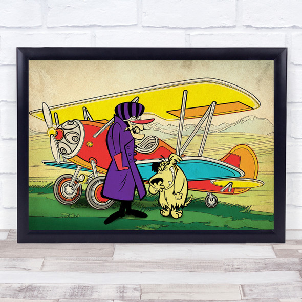 Dastardly And Muttley Wall Art Print