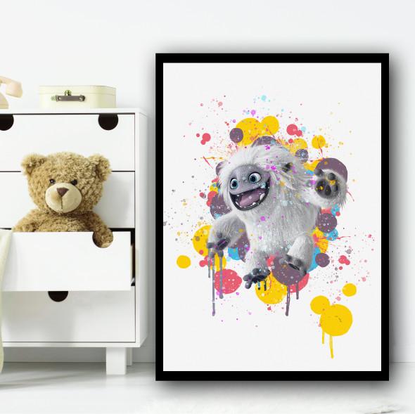 Abominable Yeti Wall Art Print