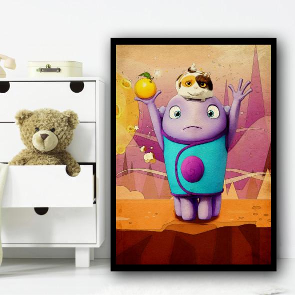 Home Oh Cute Wall Art Print