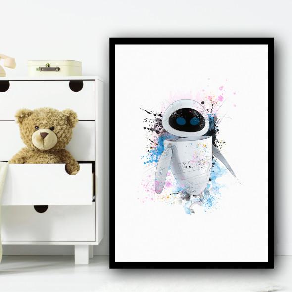 Eve Wall-E Wall Art Print