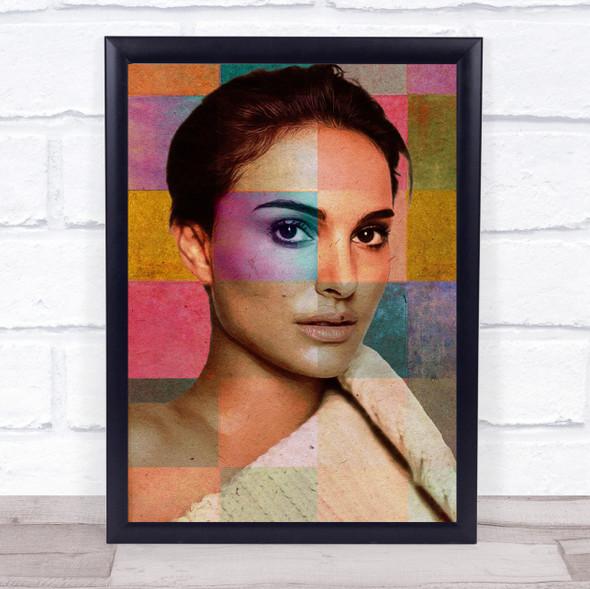 Natalie Portman Pop Art Wall Art Print