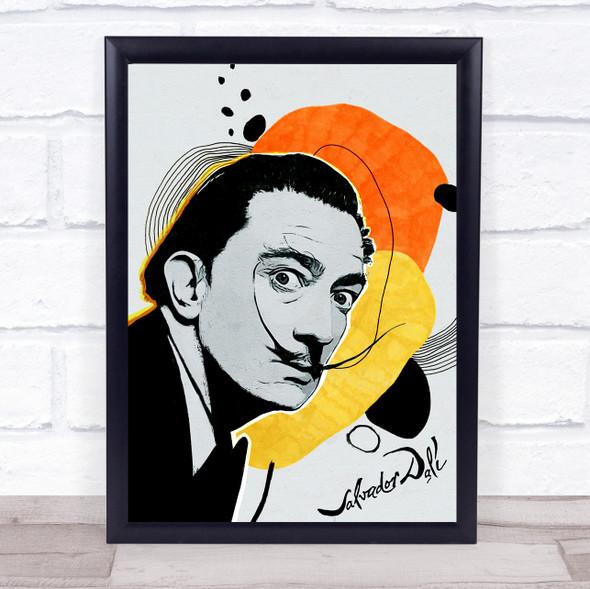 Salvador Dalí Abstract Wall Art Print