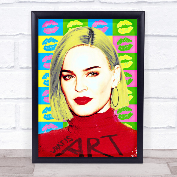 Anne Marie Pop Art Wall Art Print