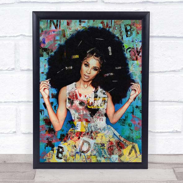 Ciara Singer Urban Wall Art Print