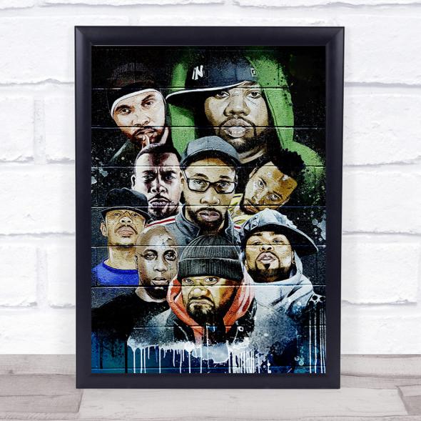 Urban Wu-Tang Clan Wall Art Print