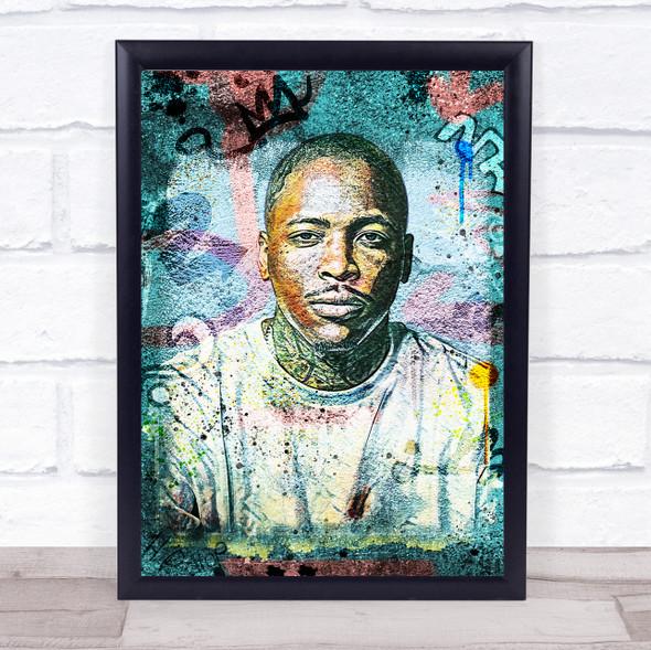 Yg Rapper Urban Wall Art Print