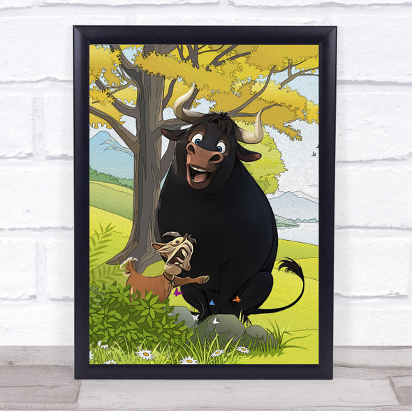 Bull Ferdinand Wall Art Print