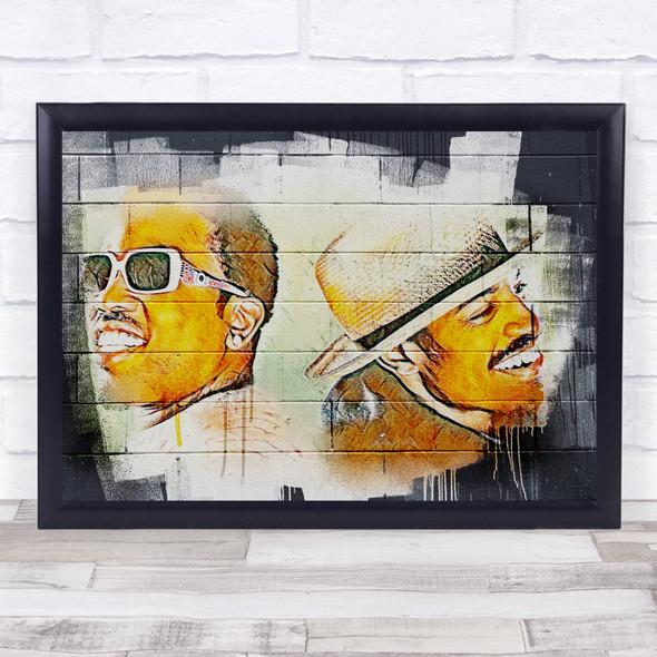 Outkast Urban Wall Art Print