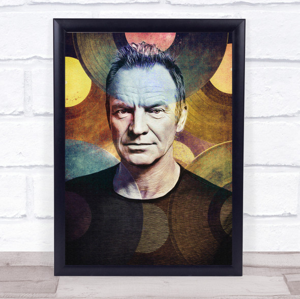 Sting Records Wall Art Print