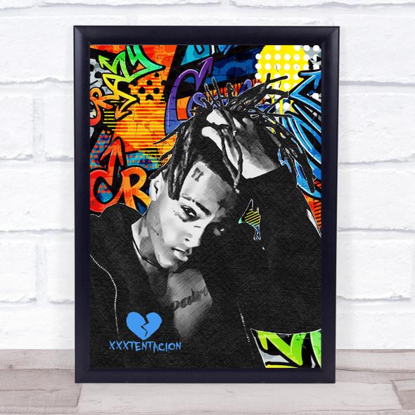 Xxxtentacion Wall Art Print