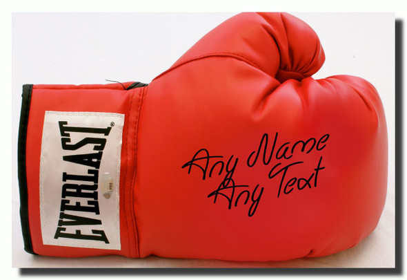 Boxing Glove Personalised Jumbo Fridge Magnet