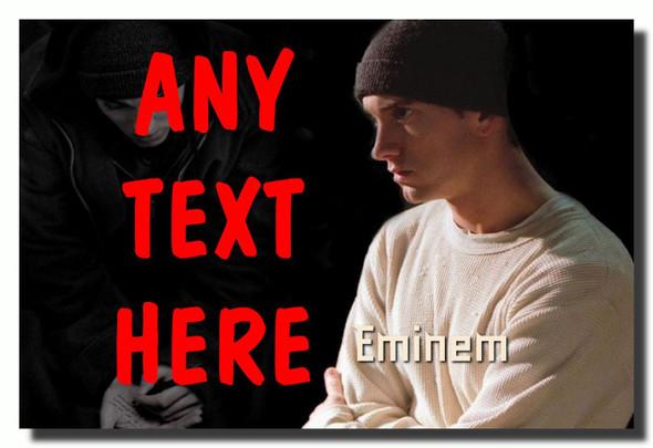 Eminem Personalised Jumbo Fridge Magnet