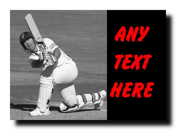 Cricket Personalised Jumbo Magnet