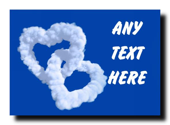 Love Cloud Personalised Jumbo Magnet