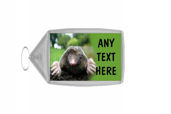 Mole Personalised Keyring