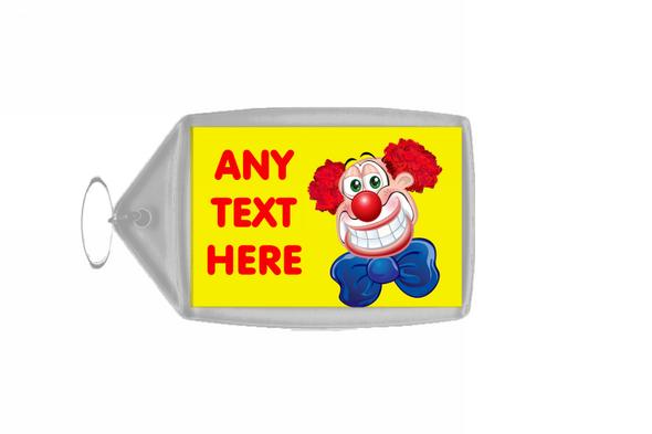 Clown Personalised Keyring