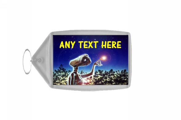 Et Alien Personalised Keyring