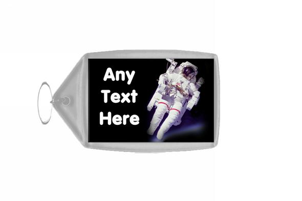 Astronaut Spaceman Personalised Keyring