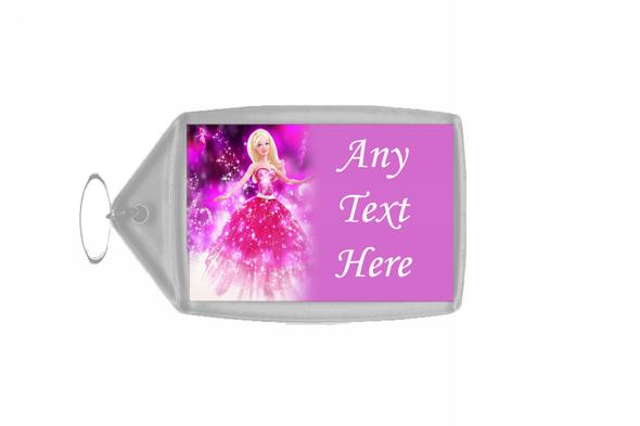 Barbie Personalised Keyring