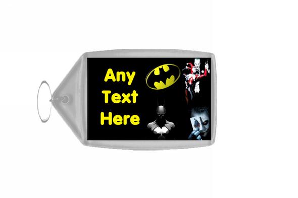 Batman Joker Personalised Keyring