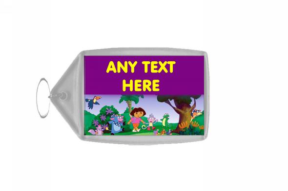 Dora The Explorer Personalised Keyring