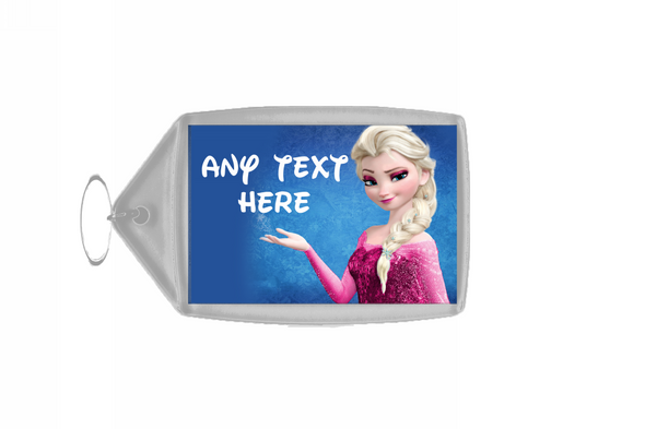 Elsa Frozen Personalised Keyring