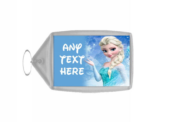 Frozen Elsa Personalised Keyring