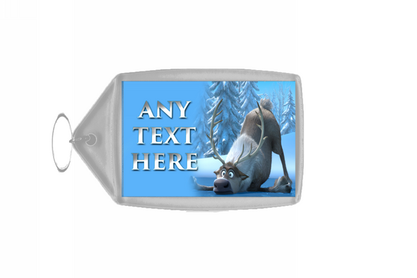 Frozen Sven Personalised Keyring