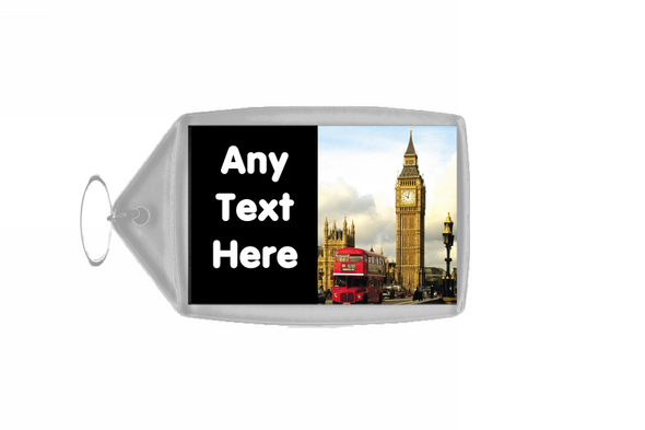 London Big Ben Personalised Keyring
