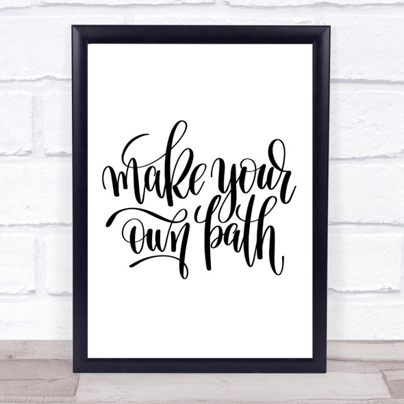 Make Your Own Quote Print Poster Typography Word Art Picture